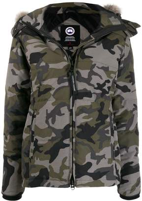 Canada Goose Chelsea camouflage print parka