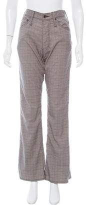 LGB High-Rise Houndstooth Knit Pants