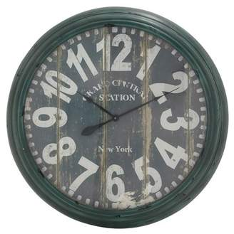 Benzara Charismatic and Antique Style Wall Clock