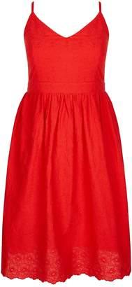City Chic **City Chic Red Midi Dress