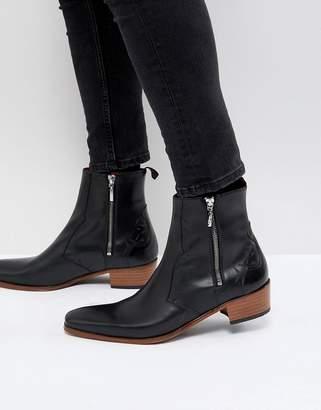Jeffery West Carlito chelsea boots in black