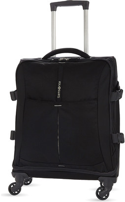 Samsonite 4mation four-wheel spinner duffle 55cm $137 thestylecure.com