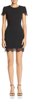 Betsey Johnson Scuba Crepe Mini Dress
