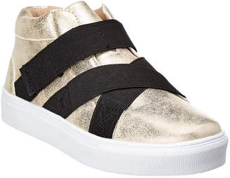 Hoo Elastic Crisscross High-Top Sneaker