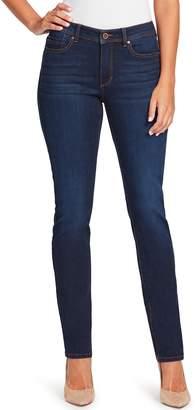 Bandolino Women's Millie Curvy Fit Slim Straight-Leg Jeans
