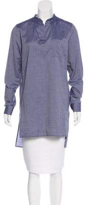 Lorenzini Distressed Long Sleeve Tunic