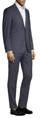 Strellson Allen Mercer Checkered Slim-Fit Suit