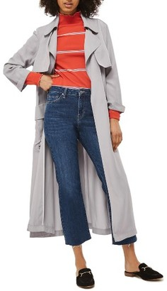 Women's Topshop Utility Pocket Duster Coat $135 thestylecure.com