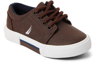 Nautica Toddler Boys) Brown Berrian Lace-Up Sneakers