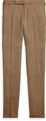 Ralph Lauren Polo Tick-Weave Suit Trouser