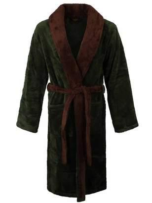 Nintendo Legend Of Zelda Men's Bath Robe Royal Crest | | /Brown