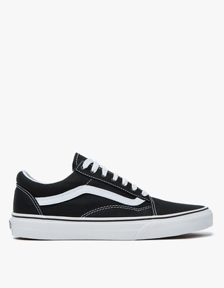 Old Skool in Black/True White $55 thestylecure.com
