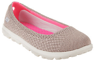 Skechers On-the-GO Mesh Ballet Flats with GOga Mat - Ritz $24.57 thestylecure.com