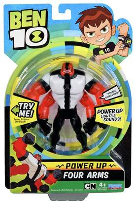 Ben 10 Deluxe Power Up Four Arms Action Figure.