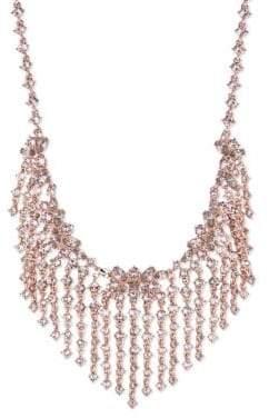 Givenchy Swarovski Crystal Fringe Collar Necklace