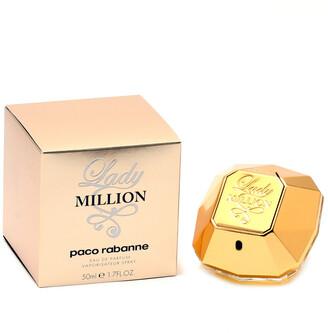 Paco Rabanne Women's Million 1.7Oz Eau De Parfum Spray