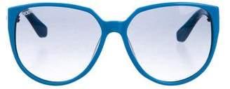 Tod's Oversize Round Sunglasses
