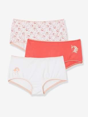 Vertbaudet Pack of 3 Shorties for Girls