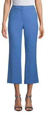 Escada Stretch-Cotton Cropped Pants