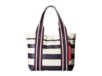 Tommy Hilfiger Classic Tommy Shopper Painted Stripe Tote
