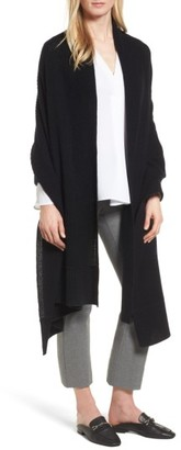 Women's Halogen Cardigan Stitch Cashmere Wrap $149 thestylecure.com