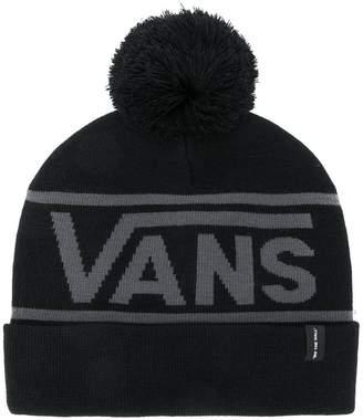 Vans logo knit bobble hat