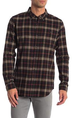 Ezekiel Prime Plaid Long Sleeve Woven Shirt