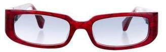 Alain Mikli Gradient Square Sunglasses