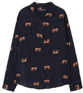 Violeta BY MANGO Animal print shirt