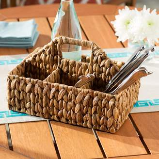Beachcrest Home Pollina Carry All Flatware Caddy