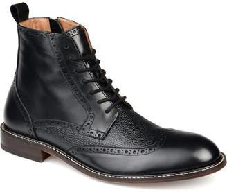 Thomas Laboratories & Vine Men Legend Wingtip Ankle Boots Men Shoes