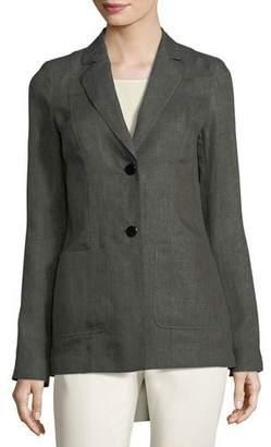 Lafayette 148 New York Kenley Bravado Italian Linen Jacket
