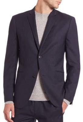 Theory Slim-Fit Italian Virgin Wool Jacket