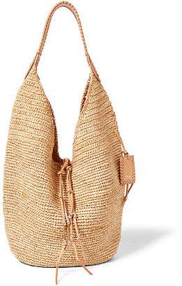 Polo Ralph Lauren Raffia Hobo Bag $198 thestylecure.com