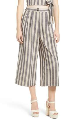 ASTR the Label ASTR Stripe Crop Wide Leg Pants