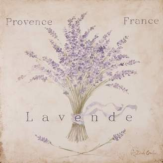 Lark Manor Lavende Panel Painting Print on Wrapped Canvas