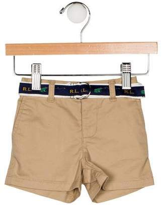 Ralph Lauren Boys' Belted Shorts w/ Tags