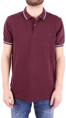 Fred Perry Cotton Pique Polo Shirt