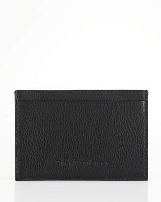 Polo Ralph Lauren Pebbled Leather Slim Card Case