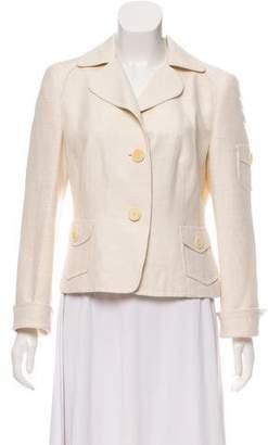 Akris Punto Silk Textured Jacket
