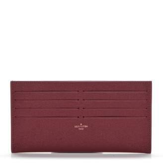 Louis Vuitton Pochette Felicie Card Holder Insert Fuchsia