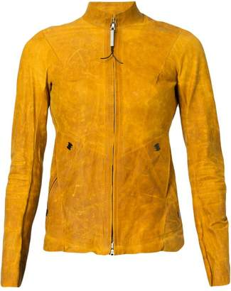Isaac Sellam Experience Reactive leather jacket