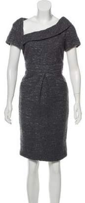 Chanel Asymmetric Wool Dress