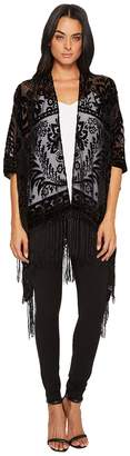 Echo Border Laurels Velvet Women's Sweater