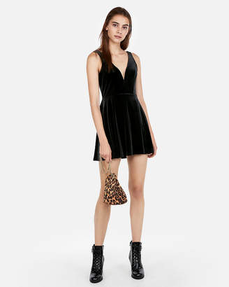 Express Black Deep V Neck Dresses Shopstyle