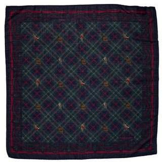 Polo Ralph Lauren Wool & Silk Print Scarf