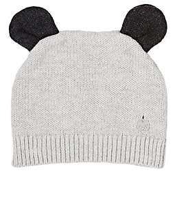 The Bonnie Mob Rosco Cotton-Cashmere Hat-Gray
