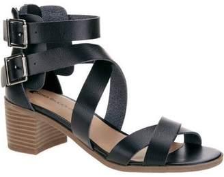 Big Buddha Women's Multi Strap Heel Casual Dress Shoe