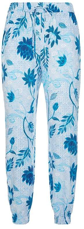 Bali Hai Floral Print Trousers