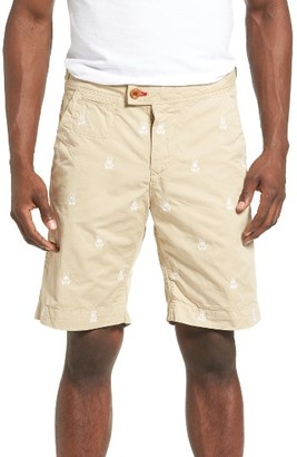 Men's Psycho Bunny Embroidered Shorts $98 thestylecure.com